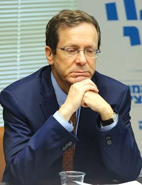 יצחק הרצוג. הערכה הדדית // צילום: אמיל סלמן, ׳הארץ׳