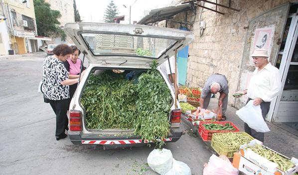 כפר יאסיף. שינוי דרמטי בהשקפות מעמד הביניים הערבי // צילום: אייל טואג, ׳הארץ׳
