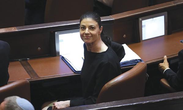 מיכאלי בכנסת. אחת מחברות הכנסת הפעילות ביותר בתחום החברתי // צילום: אמיל סלמן, ׳הארץ׳
