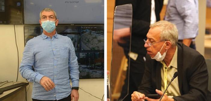 מימין: פרויקטור יוצא אש, פרויקטור פעמיים נומה // צילום: שמוליק גרוסמן, דוברות הכנסת, עיריית בני ברק