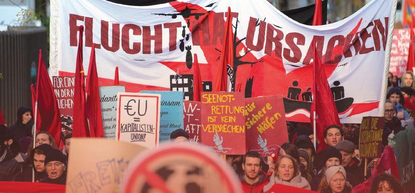 הפגנות פעילים סביבתיים בגרמניה, 2019 // צילום: Sebastian Gollnow, picture alliance via Getty Images IL