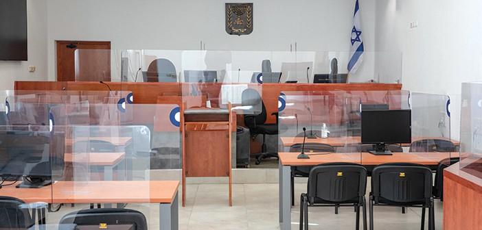 לצלם ולהקליט את כל הדיונים באולמות המשפט, לבקרה מדגמית או נקודתית // צילום: אוהד צויגנברג, 'הארץ'