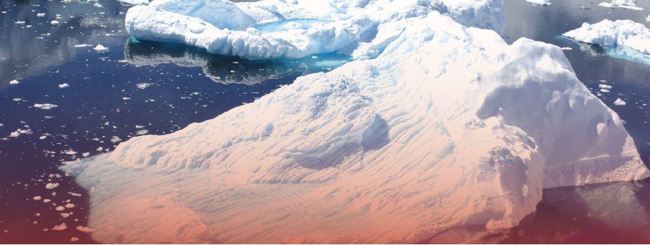 קרחונים נמסים באנטארקטיקה // צילום: Costfoto, Barcroft Media via Getty Images, Barcroft Media via Getty Images IL