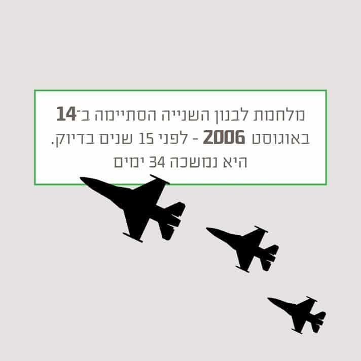 מלחמת לבנון השניה טריוויה