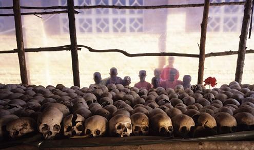 הטבח ברואנדה 1994 של בני טוטסי ובני הוטו. מבלי לטייח, רצח עם צילום Getty Images
