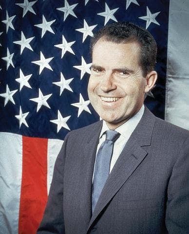 ריצ'רד ניקסון. עמד להשיק יוזמה מזרח תיכונית חדשה Keystone, Getty Images