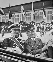 הורטי והיטלר, 1938